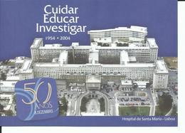 Portugal 2004 - Postal Stationery 50 Years Santa Maria Hospital - Postwaardestukken