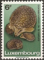 Luxemburg 1970 1 Val MNH Hedgehogs - Other
