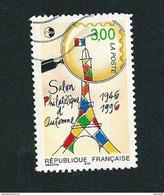 N° 3000 CNEP - Salon Philatélique D'Automne 1946-1996 3.00  Timbre FRANCE  Oblitéré 1996 - France