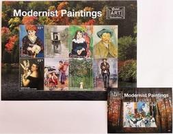 # Grenada 2015**Mi.7008-16  Modernists Paintings , MNH [14;76] - Art