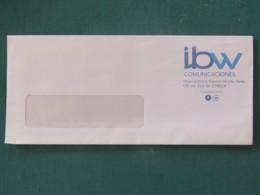 Nicaragua 2015 Cover Managua To Leon - Internet Company IBW - Postage Paid - Leon Cancel On Back - Nicaragua