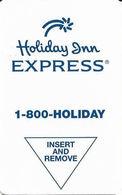 Holiday Inn Express Hotel Room Key Card - Hotel Keycards