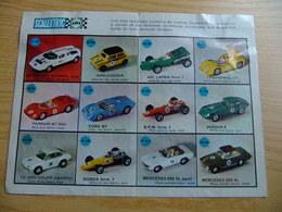 SCALEXTRIC ACCESSOIRES Publicidad Coches Antiguos De Scalextic - Circuits Automobiles