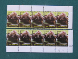 Nicaragua 2017 MINT Stamp Food - Shifted Perforation - Down Of Stamp Green Or Dark Brown - Nicaragua