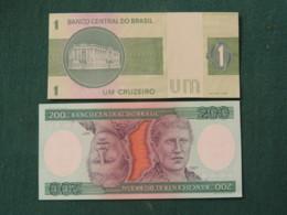 Brazil Cf 2019 Banknotes 1 And 200 - Princess Isabel - Women - Brazil