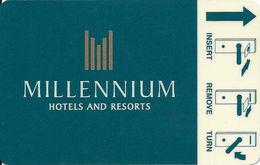 Millennium Hotel Room Key Card - Hotel Keycards