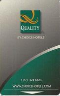 Quality Hotel Room Key Card - Hotel Keycards