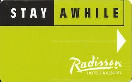 Radisson Hotel Room Key Card - Hotel Keycards