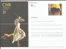 Portugal 2007 - Postal Stationery 30 Years Ballett National Company - Postwaardestukken