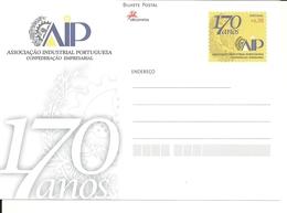 Portugal 2007 - Postal Stationery 170 Years Portuguese Industrial Association - Postwaardestukken