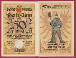 Allemagne 1 Notgeld 50 Pfenning Stadt  Potsdam ( RARE) Dans L'état Lot N °4308 - [ 3] 1918-1933 : Repubblica  Di Weimar