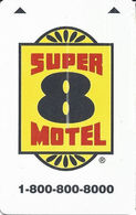 Super 8 Hotel Room Key Card - Hotel Keycards