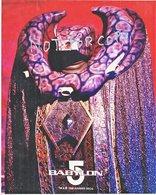 BABYLON  5  VORLON    Unsigned  STUDIO  PHOTO - Autographs