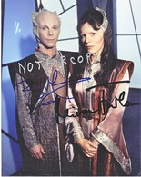 AUTOGRAPHED  PHOTO   BABYLON  5    Signed By  BILL  MUMY  ( LENNIE ) - Autographs
