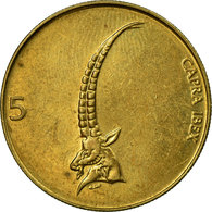 Monnaie, Slovénie, 5 Tolarjev, 1995, TTB, Nickel-brass, KM:6 - Slovenia