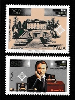 ITALY 1995 Centenary Of First Radio Transmission: Pair Of Stamps UM/MNH - 6. 1946-.. Repubblica