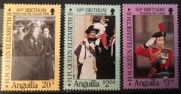 ANGUILLA  - MNH** - 1986 - # 674/676 - Anguilla (1968-...)