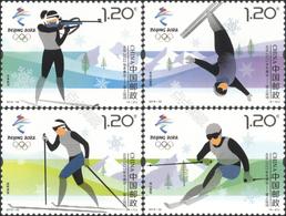 China 2018-32 Olympic Winter Game Beijing 2022-Snow Sports Stamps - Inverno 2022 : Pechino