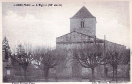 17 - Lorignac  - L Eglise - France