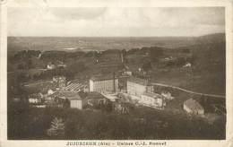 "/ CPA FRANCE 01 ""Jujurieux, Usines C J Bonnet"" - Other Municipalities"