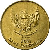 Monnaie, Indonésie, 500 Rupiah, 2001, TTB, Aluminum-Bronze, KM:59 - Indonésie
