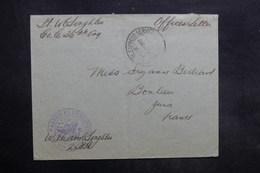 ETATS UNIS - Enveloppe De Soldat En Exprès Service Pour La France En 1918 Avec Cachet De Censure - L 35291 - Postal History
