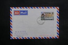 SAINTE HÉLÈNE - Enveloppe Pour La France En 1987 , Affranchissement Plaisant - L 35301 - Sainte-Hélène