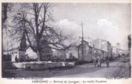17 - Lorignac  - Arrivée De Lorignac  - La Vieille Fontaine - France