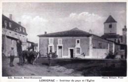 17 - Lorignac  - Interieur Du Pays Et L Eglise - France