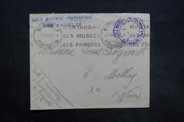 FRANCE - Enveloppe En FM De Montauban Pour Mellay En 1940 , Voir Cachets - L 35325 - Guerre De 1939-45