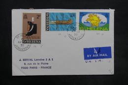 SAINTE HÉLÈNE - Enveloppe Pour La France En 1975 , Affranchissement Plaisant - L 35329 - Sainte-Hélène