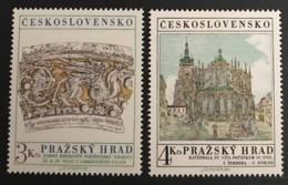 CZECHOSLOVAKIA  - MNH** - 1981 - # 2384/2385 - Unused Stamps