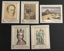 CZECHOSLOVAKIA  - MNH** - 1980 - # 2335/2339 - Unused Stamps