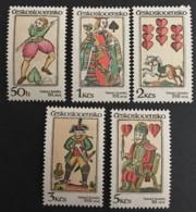 CZECHOSLOVAKIA  - MNH** - 1984 - # 2520/254 - Unused Stamps