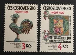 CZECHOSLOVAKIA  - MNH** - 1984 - # 2518/2519 - Unused Stamps