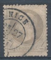 N°27 NUANCE ET OBLITERATION. - 1863-1870 Napoléon III Lauré