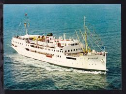 MS Nordland, Karte Rs Papierrest - Steamers