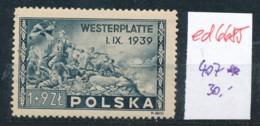 Polen Nr. 407   **  (ed6685  ) Siehe Scan - 1944-.... République