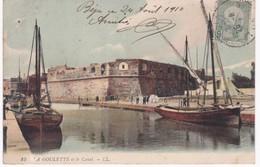 Tunisie -  LA GOULETTE Et Le Canal - 1910 - Túnez