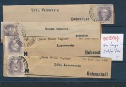 Österreich Lot Zeitungsschleifen ?   (oo9144  ) Siehe Scan - 1850-1918 Imperium