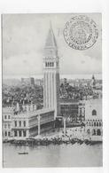 (RECTO / VERSO) VENEZIA EN 1912 - CAMPANILE DI S. MARCO  - BEAU TIMBRE ET CACHET - CPA VOYAGEE - Venezia (Venice)