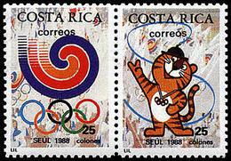 ** Costa Rica - 1988 - Olympic Games 1988 - Mi. 1350-1 - Ete 1988: Séoul
