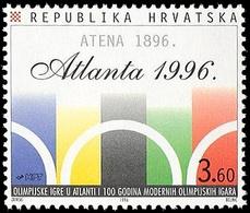 ** Croatia - 1996 - Olympic Games 1996 - Mi. 387 - Ete 1996: Atlanta