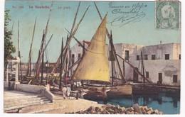 Tunisie -  LA GOULETTE - Le Port - 1910 - Tunisie