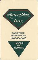 AmeriHost Inn Hotel Room Key Card - With CPICA 14197 8/99 - Hotel Keycards