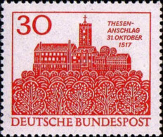 RFA Poste N** Yv: 409 Mi 544 Yv:0,4 Euro Thesen-Anschlag Wartburg (Thème) - Castles