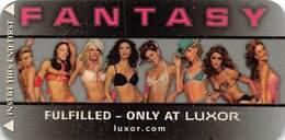 Luxor Casino - Las Vegas NV - Narrow Hotel Room Key Card - Hotel Keycards
