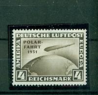 Deutsches Reich,Zeppelin über Weltkugel, Polarfahrt 1931, Nr. 458 Gestempelt - Gebraucht