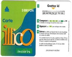 @+ TC Recharge De Cote D'Ivoire - Illico - 5 000 F CFA - Verso 30 Jours - Ivoorkust