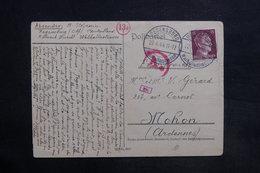 ALLEMAGNE - Carte De Correspondance De Regensburg Pour La France En 1944 Avec Contrôle Postal - L 35364 - Deutschland